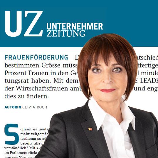 Autorin Clivia Koch in der UZ, Dez. 2019